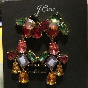 Amazing Jcrew crystal dangle earrings